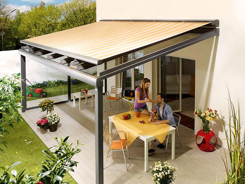 beschattung terrasse moderne beschattung fr ihre terrasse. Black Bedroom Furniture Sets. Home Design Ideas